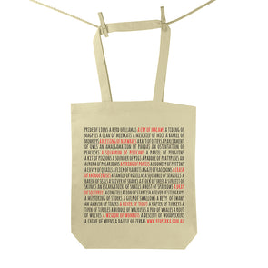 Collective Nouns Tote Bag