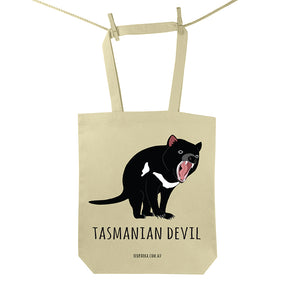 Tasmanian Devil Tote Bag