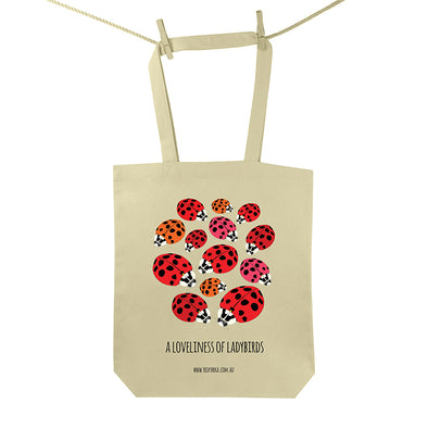 Loveliness of Ladybirds Tote Bag
