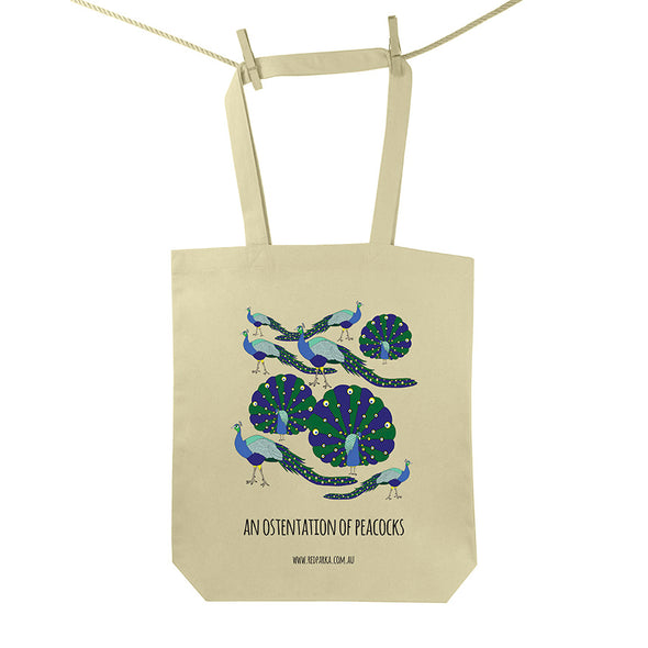 Ostentation of Peacocks Tote Bag