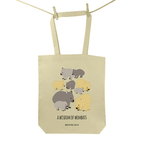 Wisdom of Wombat Tote Bag