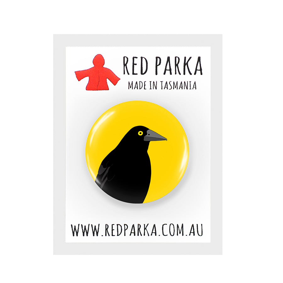 RP - Currawong Badge - 25mm YELLOW