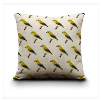 Cushion Cover - Forty Spotted Pardalote
