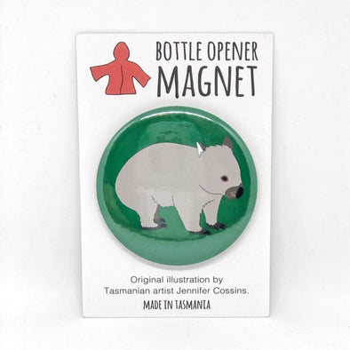Wombat Bottle Opener Magnet