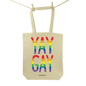 Yay Gay Tote Bag
