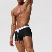 Men's Sports Comfortable Beach Boxer Trunks