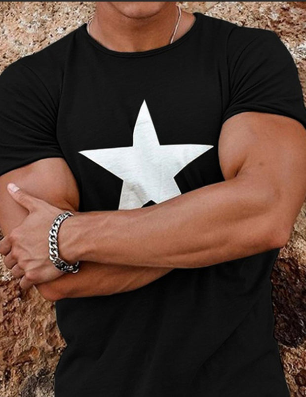 Printed Men's Short-sleeved T-shirt