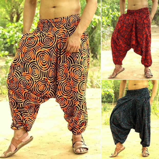 Loose Casual Ethnic Trousers