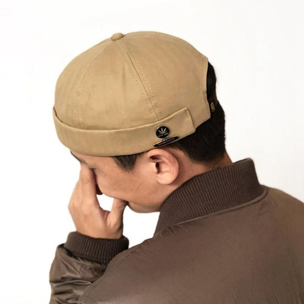 Original Popular Logo Melon Skin Sailor Cap