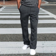 Men's Casual Loose Straight Overalls