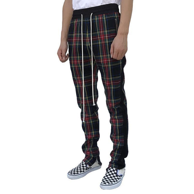 Men's Casual Trousers Zipper