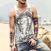 Men's Elephant Print T-shirt