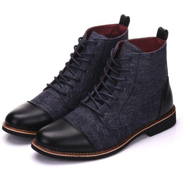 Fashion Casual Lace-up Martin Boots