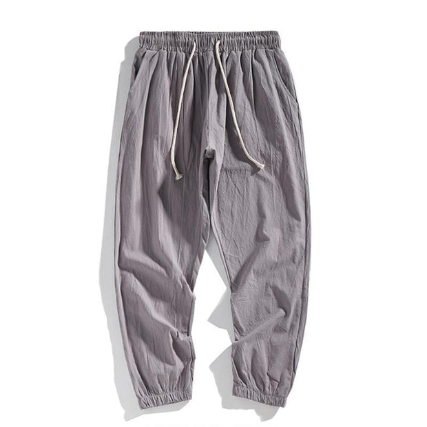 Solid Loose Basic Casual Pants