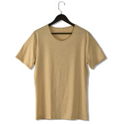 Round Neck Casual Bamboo Short-sleeved T-shirt