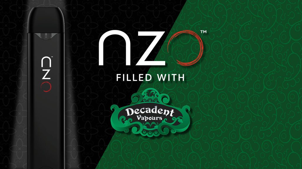 nzo announces third collaboration with Decadent Vapours