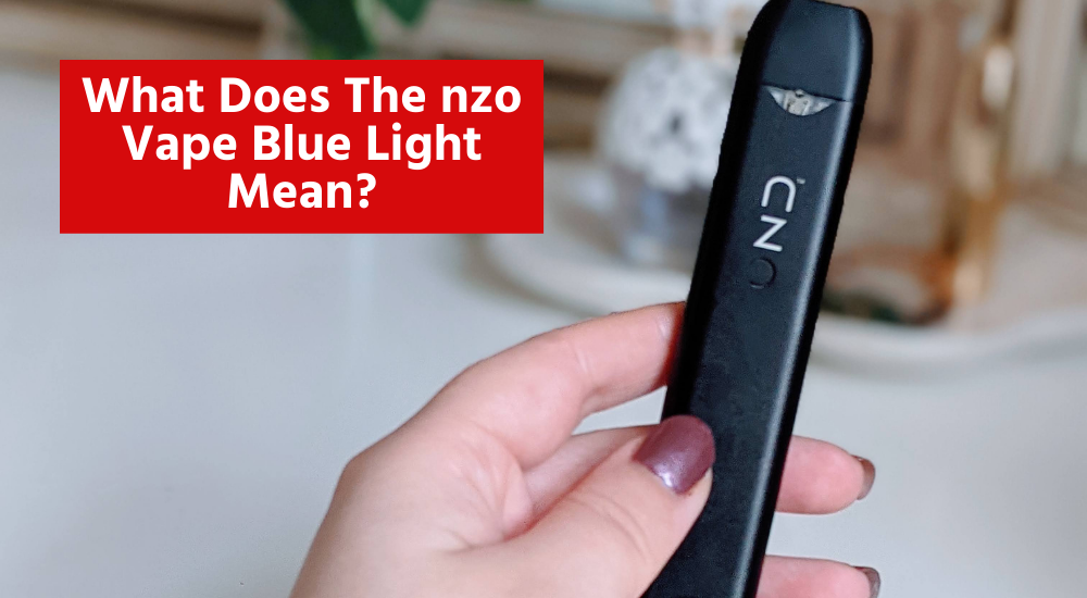 What does the nzo blue light mean?