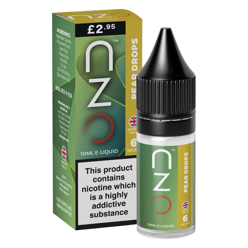nzo - Pear Drops 50/50 10ml