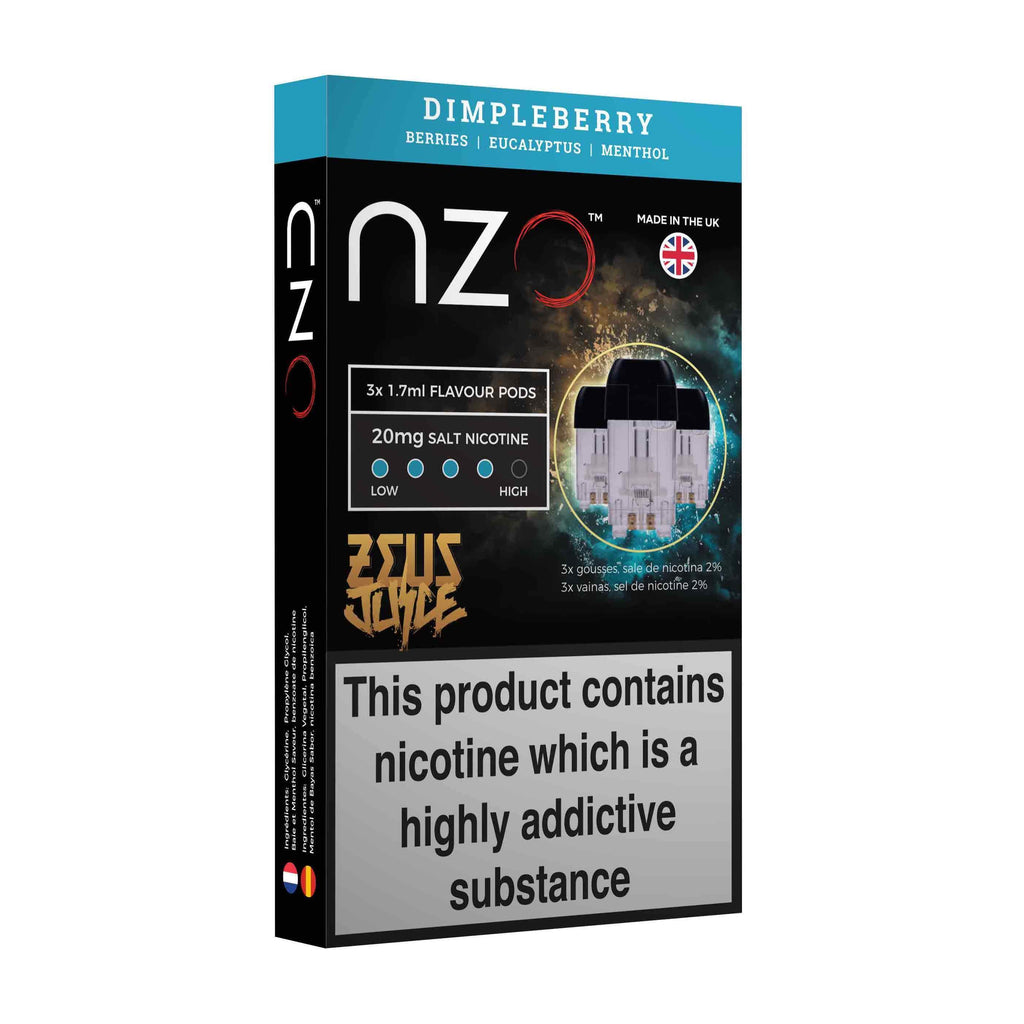 Zeus Pods 20mg Dimpleberry
