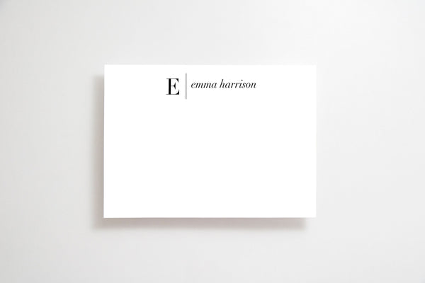 Personalized stationery set,Stationery personalized notecards,Custom stationery,Notecards with envelopes,Personalized cards,Minimalist cards