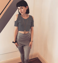 Load image into Gallery viewer, Gray Embrace Leggings