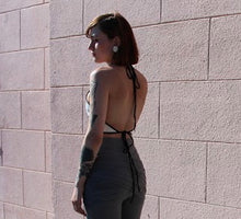 Load image into Gallery viewer, Open Back Halter Top