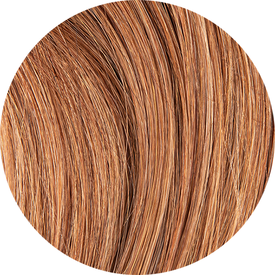 Coffee Brown Balayage Hair Extensions-20