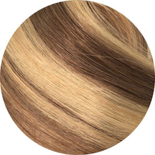 "Load image into Gallery viewer, Ash Brown highlight Tape Hair-16""-100g"
