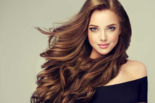 "Load image into Gallery viewer, Chestnut Brown Tape-In Hair Extensions-20""-100g-Luisant Hair"