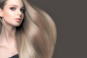 "Ash Blonde Tape Hair-16""-100g"