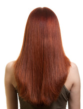 "Load image into Gallery viewer, Burgundy Clip-In Hair Extensions-20""-180g-Luisant Hair"