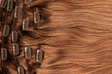 "Load image into Gallery viewer, Chestnut Brown Virgin Hair Extensions-18""-120g-Luisant Hair"