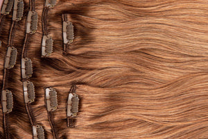 "Coffee Brown Balayage Hair Extensions-20""-180g-Luisant Hair"