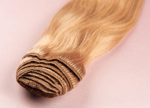 "Strawberry Blonde-Virgin Hair-18""-150g"