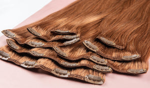 "Bronde Virgin Hair Extensions-26""-220g-Luisant Hair"