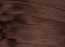 "Load image into Gallery viewer, Dark Brown Clip-In Hair Extensions-24""-220g-Luisant Hair"