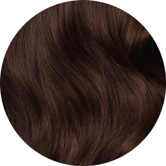 Dark Brown Clip-In Hair Extensions-24