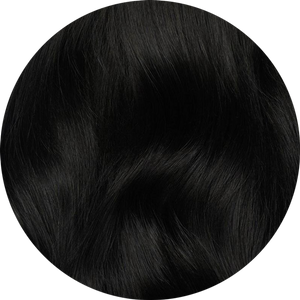 "Dark Black Tape-In Hair Extensions-16""-100g-Luisant Hair"