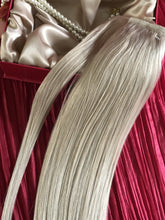 "Load image into Gallery viewer, Platinum Blonde Ponytail-20""-120g"