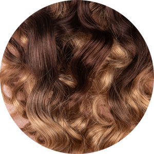 "Dark Brown Ombre 16""-120g"