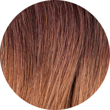 "Load image into Gallery viewer, Dark Brown Ombre Hair Extensions-16""-120g-Luisant Hair"