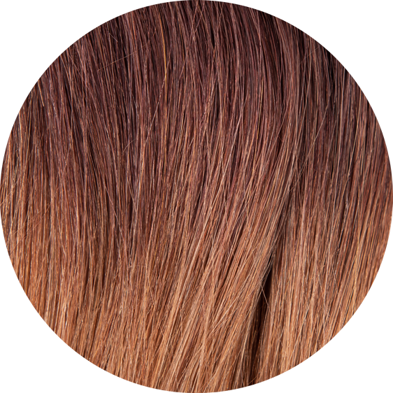 Dark Brown Ombre Hair Extensions-20