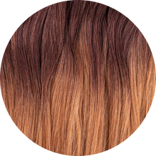 "Load image into Gallery viewer, Auburn Ombre 24""-220g"