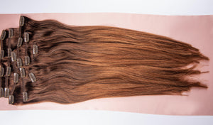 "Dark Brown Ombre Hair Extensions-20""-180g-Luisant Hair"