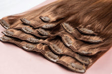 "Load image into Gallery viewer, Bronde Ombre Hair Extensions-16""-120g-Luisant Hair"