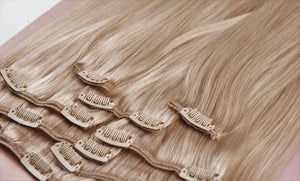 "Ash Blonde Virgin Hair Extensions-20""-160g-Luisant Hair"