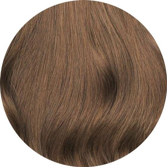 Ash Brown Clip-In Hair-20