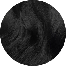 "Load image into Gallery viewer, Medium Black-Clip In Hair-20""-180g"