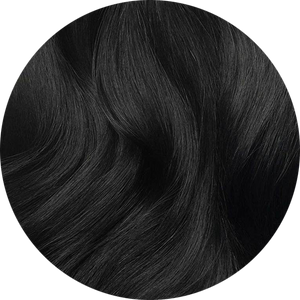 "Medium Black-Tape Hair-20""-100g"
