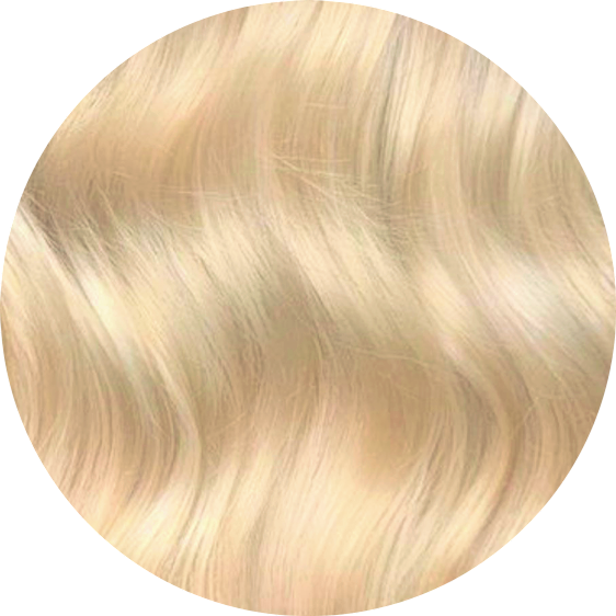 Bleach Blonde Clip-In Hair-20